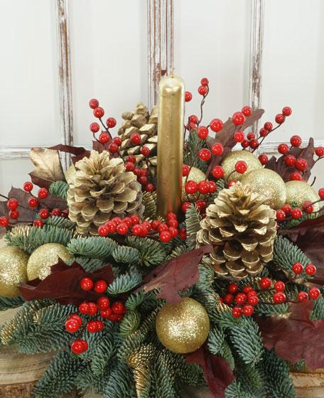 Centro de Navidad Piñas